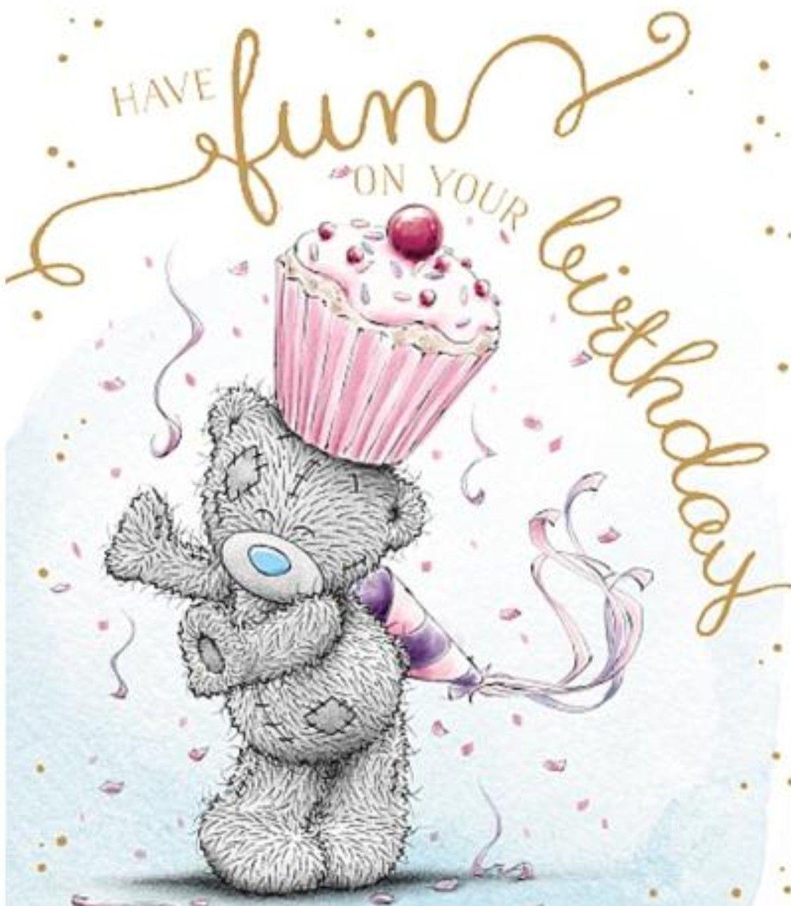 Pin By Janice Trujillo On Verjaardag Happy Birthday Cards Tatty Teddy Happy Birthday Images