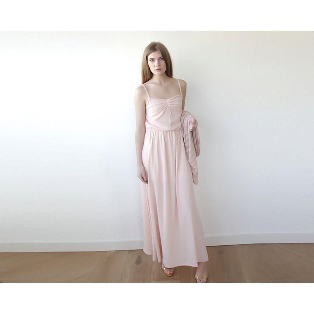 Pink maxi dress SALE 1004