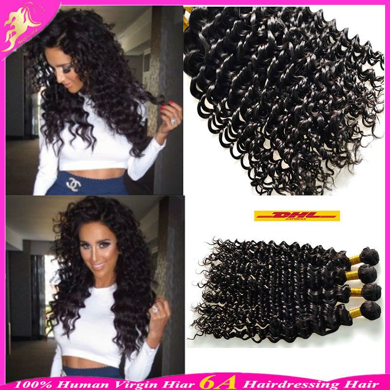 Find More Hair Weaves Information About Brazilian Deep Curly Hair