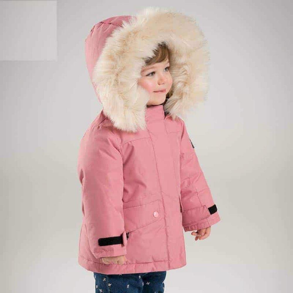 Winter Girls Down Jacket White Duck Down Padding With Hood Kidooki Kids Baby Girl Winter Winter Girls Kids Coats [ 1000 x 1000 Pixel ]