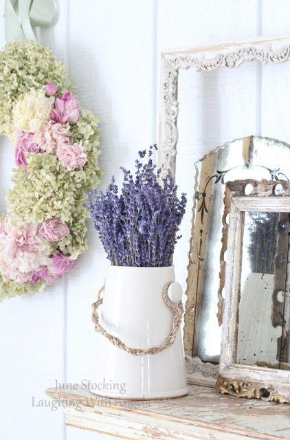 #shabby #chic #decoration #flowers