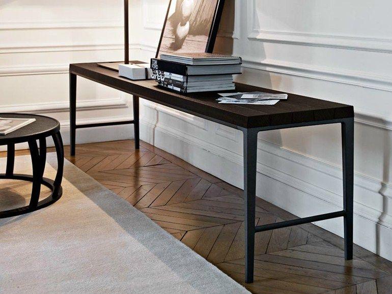 Antares console table by maxalto a brand of b for B b maxalto