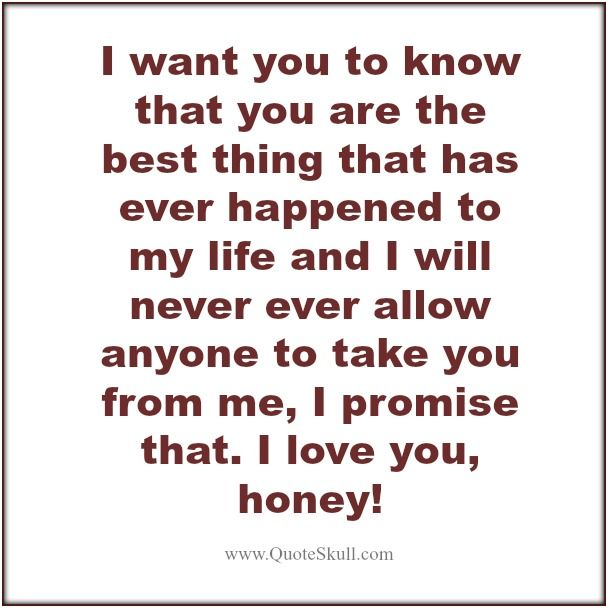 love promise quotes for him