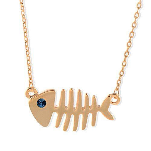 Fashion Fishbone Necklace Special Fish Love necklace Short Necklace gold C S Larence http://www.amazon.com/dp/B010XVYCCC/ref=cm_sw_r_pi_dp_T5Fiwb01RQ3MT