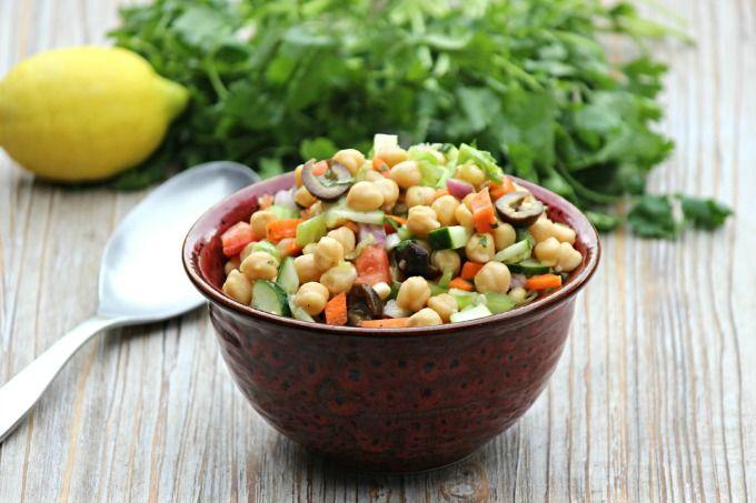 Summer Garbanzo Bean Salad