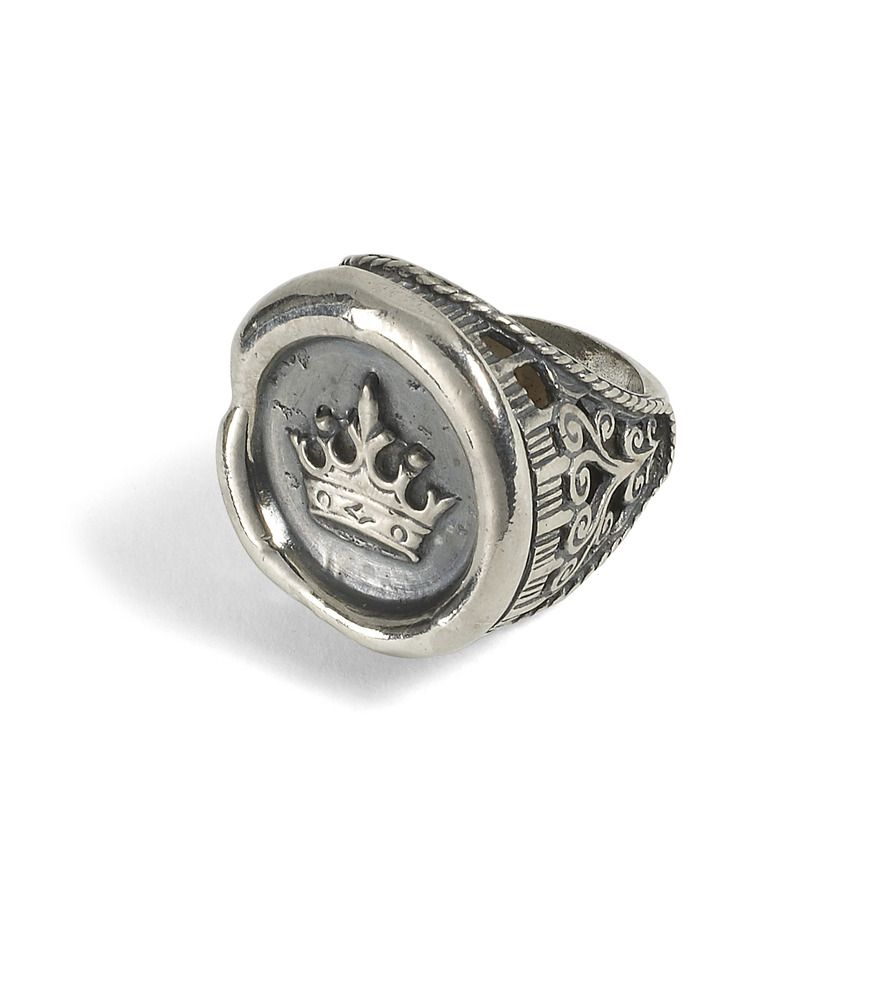 Image Of Crown Wax Seal Ring