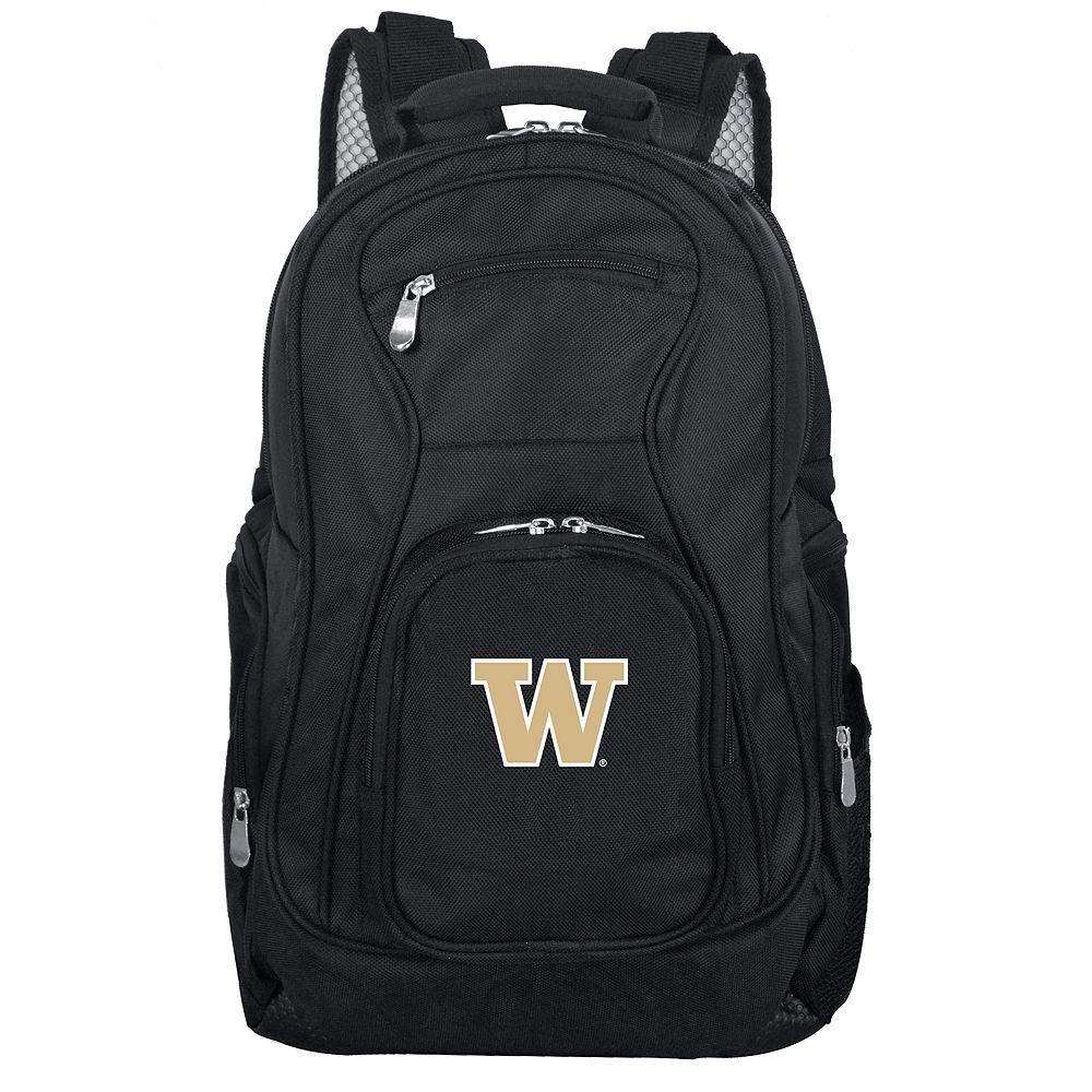 Washington Huskies Premium Laptop Backpack, Black