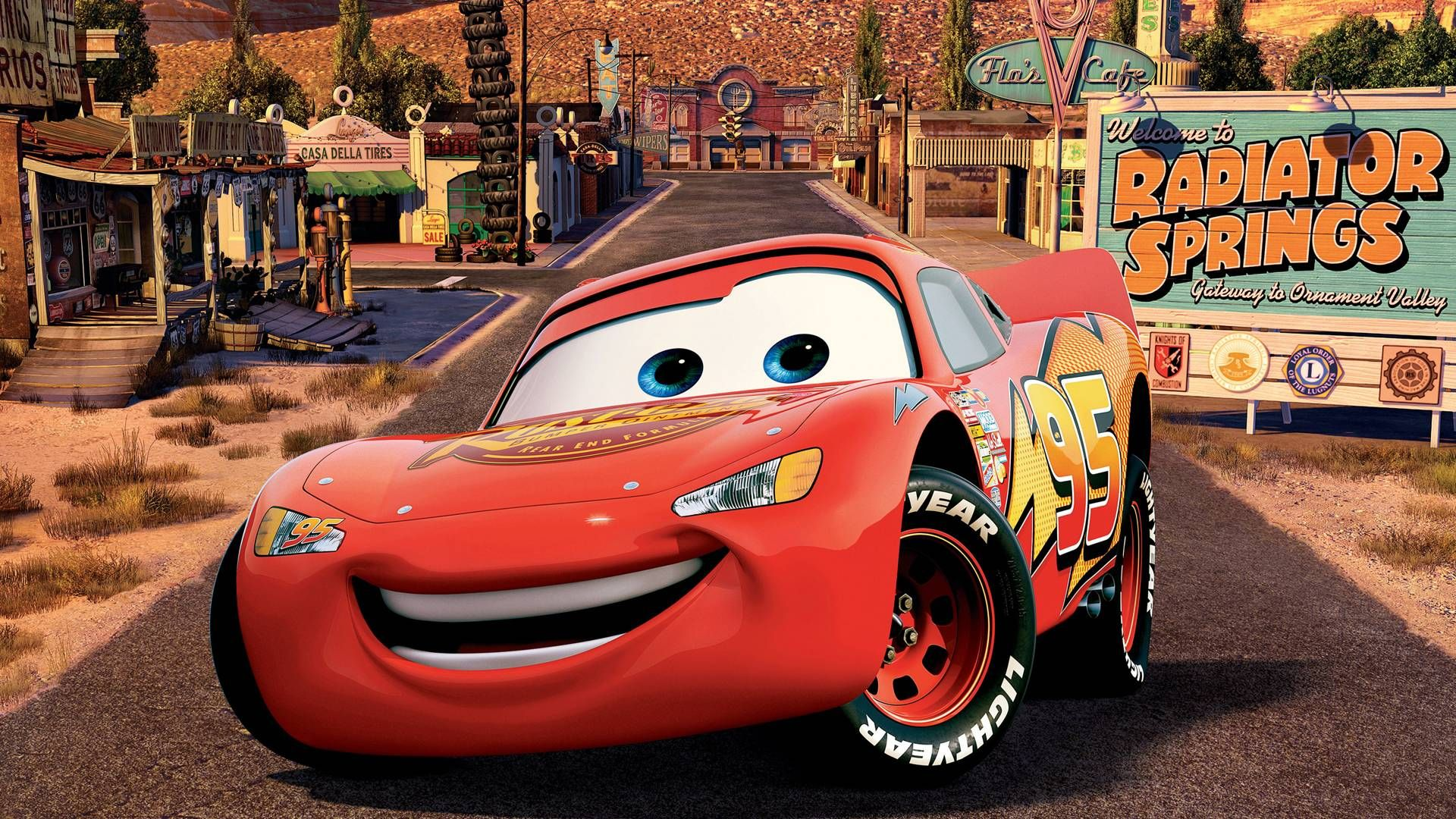 Best Wallpaper Cars Lightning Mcqueen In Windows Themes With Download HD