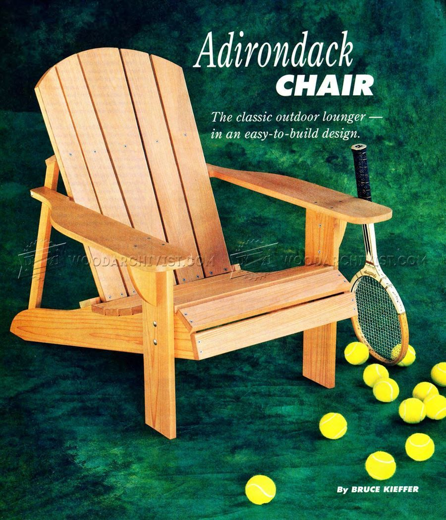 18 How To Build An Adirondack Chair Plans Ideas Easy Diy Plans