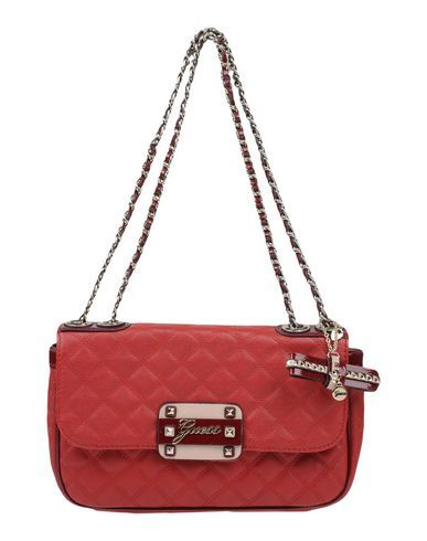 36aa15ab861f GUESS Women s Shoulder bag Red -- --