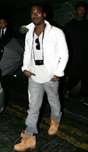 Karu Dedicación Monografía  Kanye West wearing TIMBERLAND   Timberland boots mens, Timberland boots  outfit mens, Kanye west style