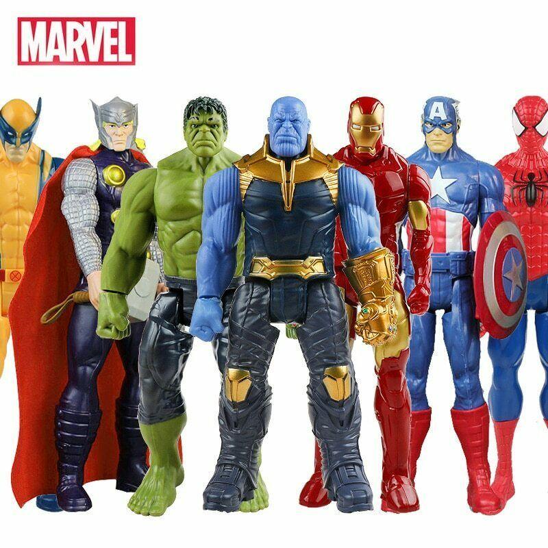 Infinity War Action figures Iron Man Hulkbuster Thanos Thor Toy 7 pcs Avengers