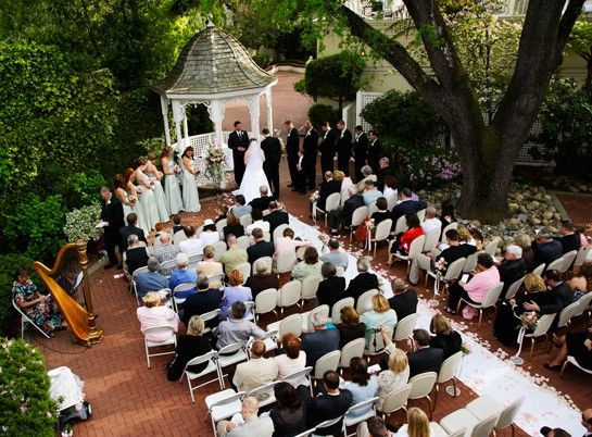 Ceremony From The 2nd Story Loft Of Guest Room Kristen Hollie