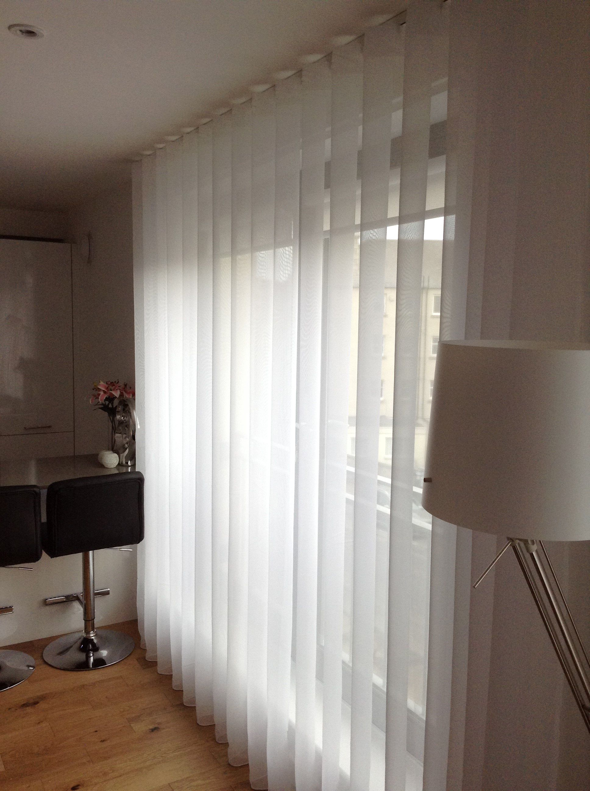 Wave Curtains In Sheer Fabrics From Pole Design This One