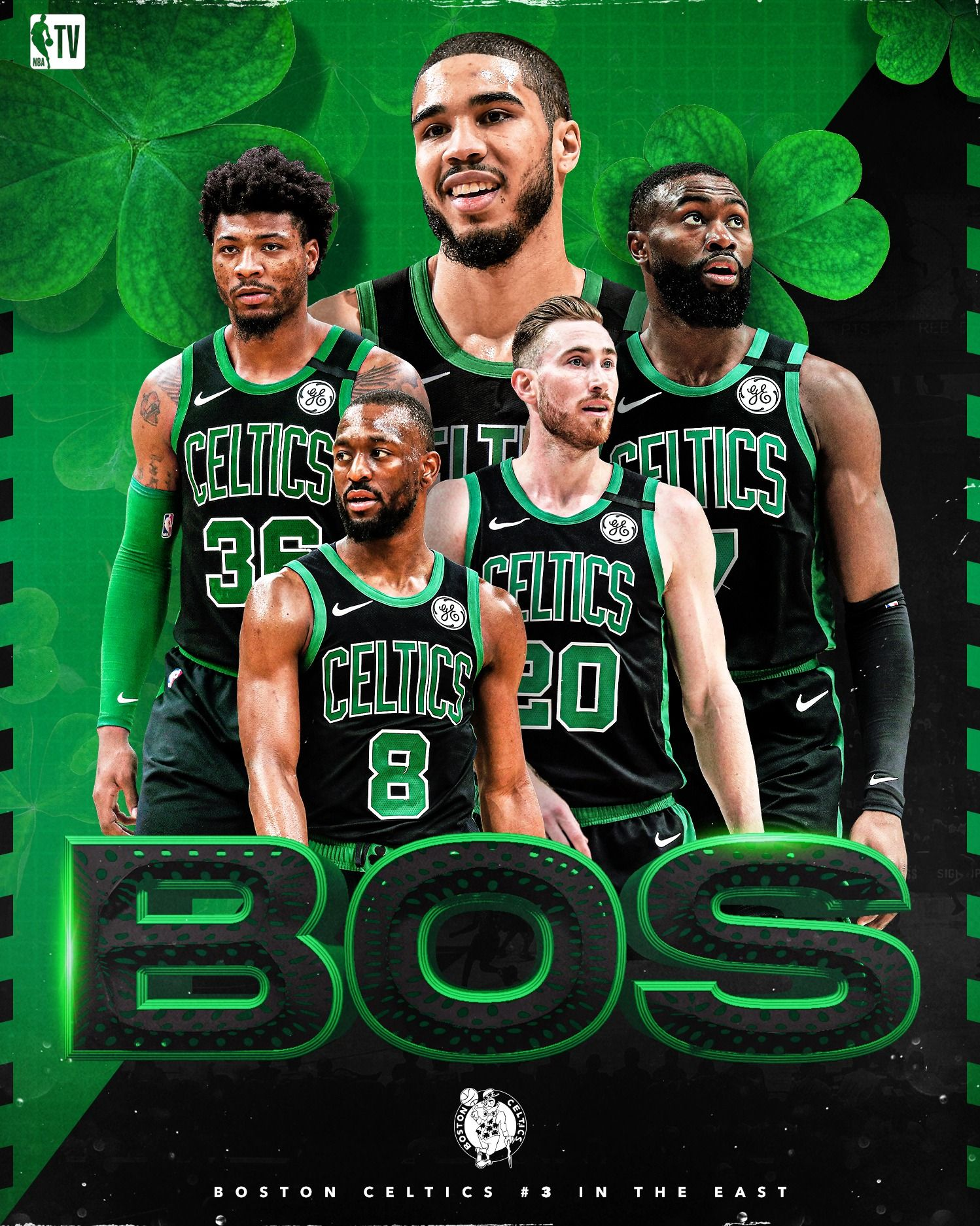 Nba Tv On Twitter Boston Celtics Wallpaper Nba Tv Boston Celtics