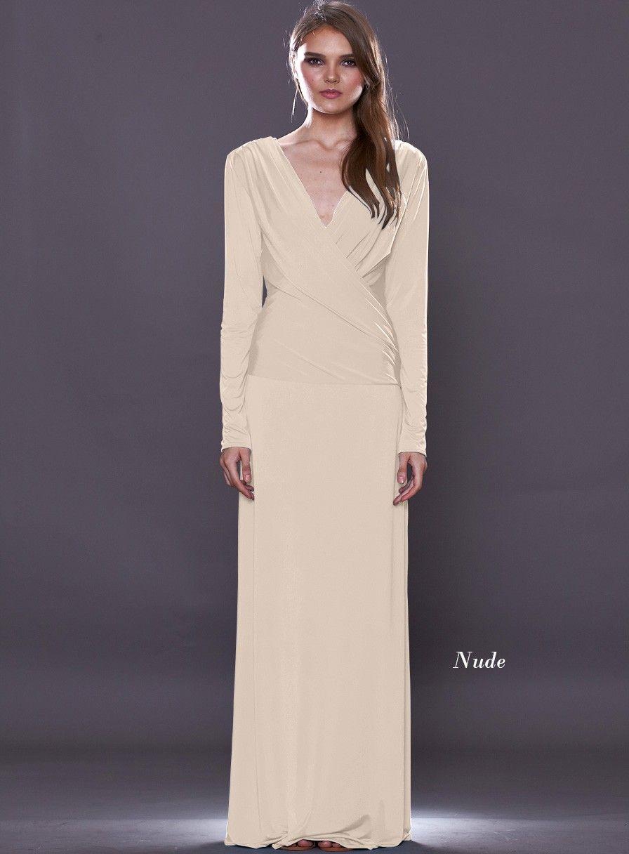 Pin de White Runway en Nude Bridesmaids | Pinterest | Vestidos y ...