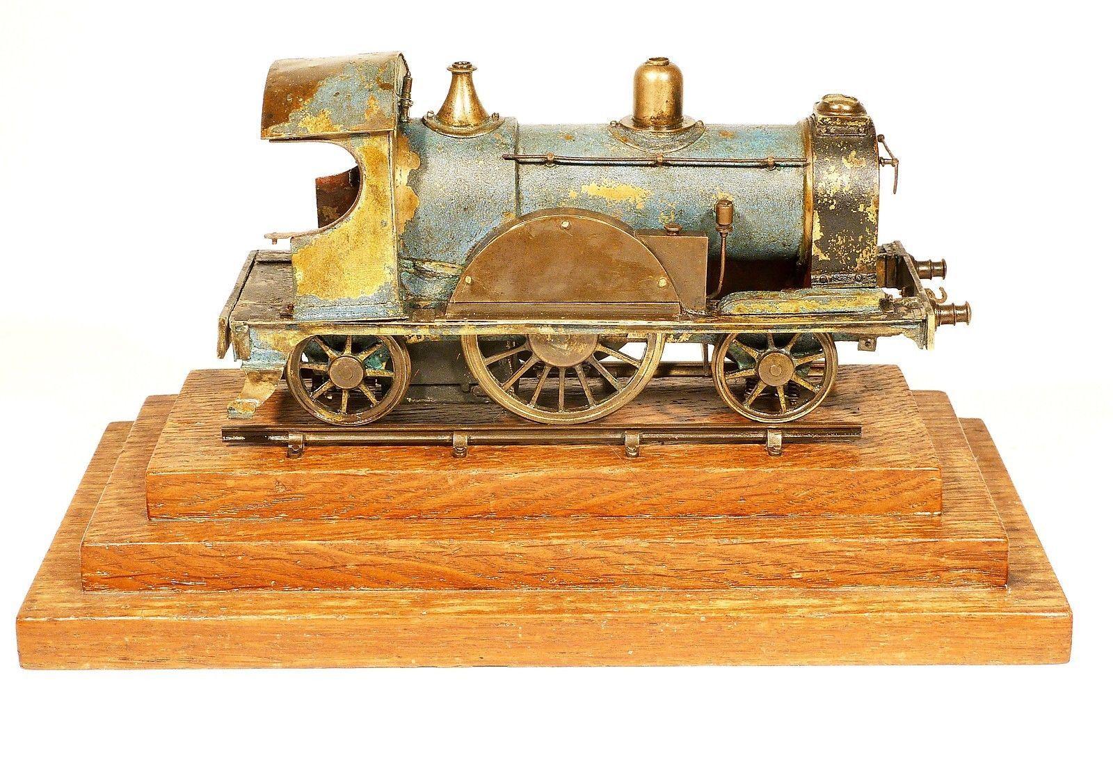 radiguet bing dampflok live steam uralt tinplate handarbeitsmodell, Wohnzimmer dekoo
