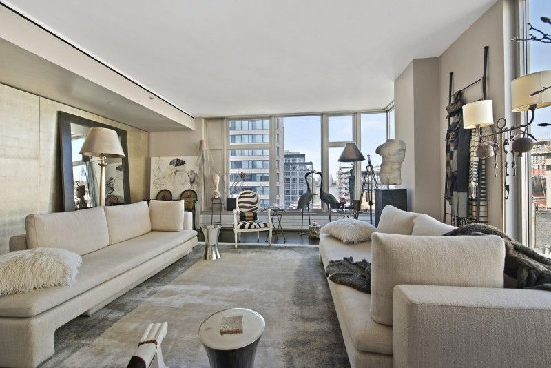 An Elegant Apartment In Tribeca | HomeDSGN, A Daily Source For Inspiration  And Fresh Ideas · Luxury ApartmentsCool ApartmentsApartments DecoratingNew  York ...