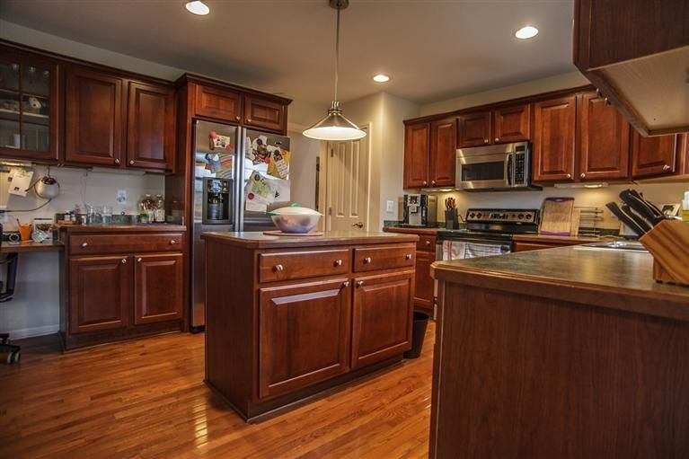 Crisp and Clean Centennial Park Two-Story Home | Kitchen ...