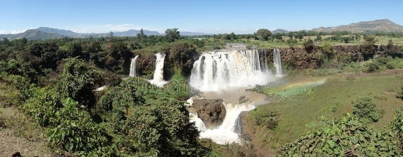 Waterfall Blue Nile Landscape And Waterfall Blue Nile With Rainbow Ethiopia Aff Landscape Waterfall Nile Waterfall B Waterfall Nile Blue Nile