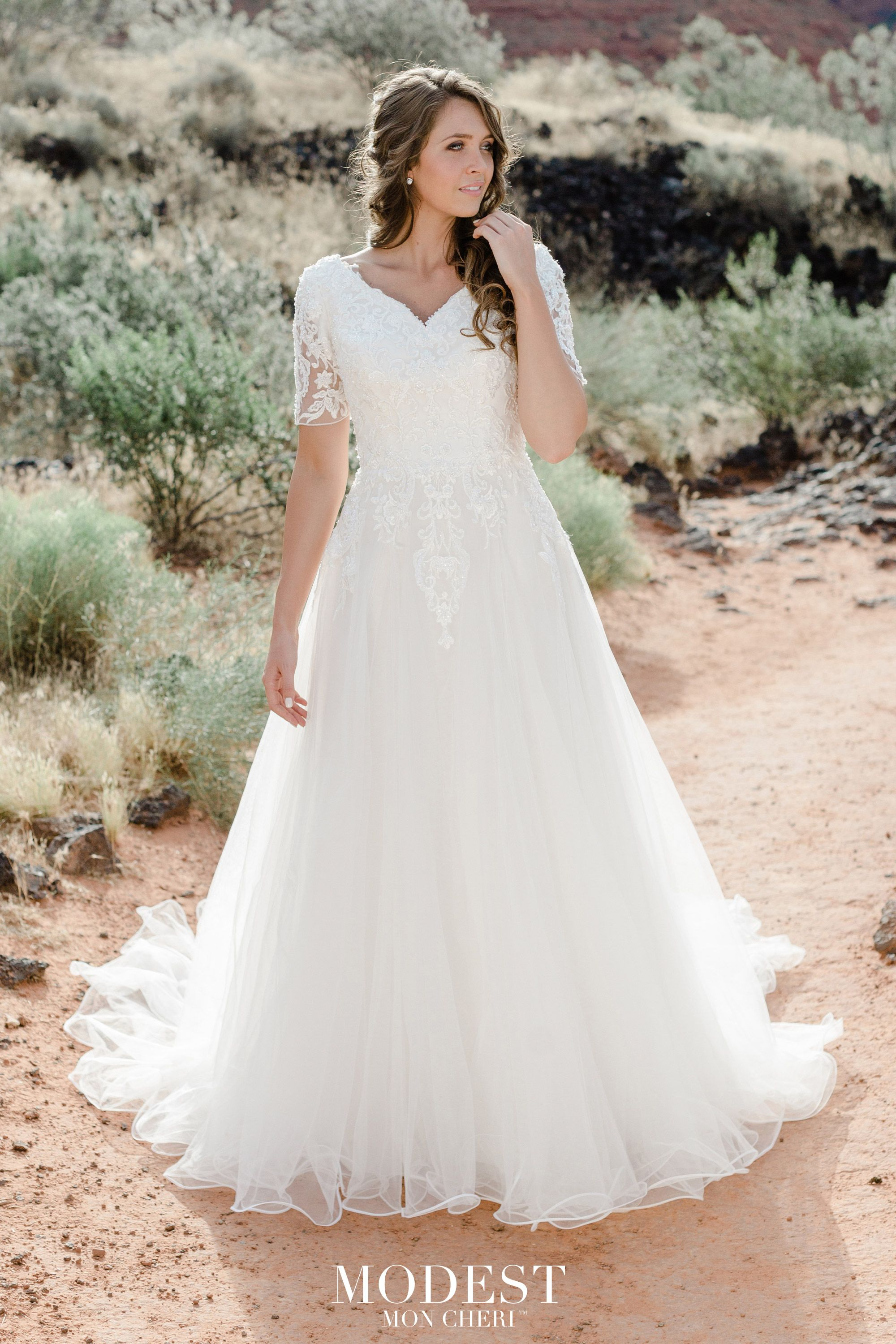 MODEST BY MON CHERI SPRING COLLECTION 2020 TR12029 Ball