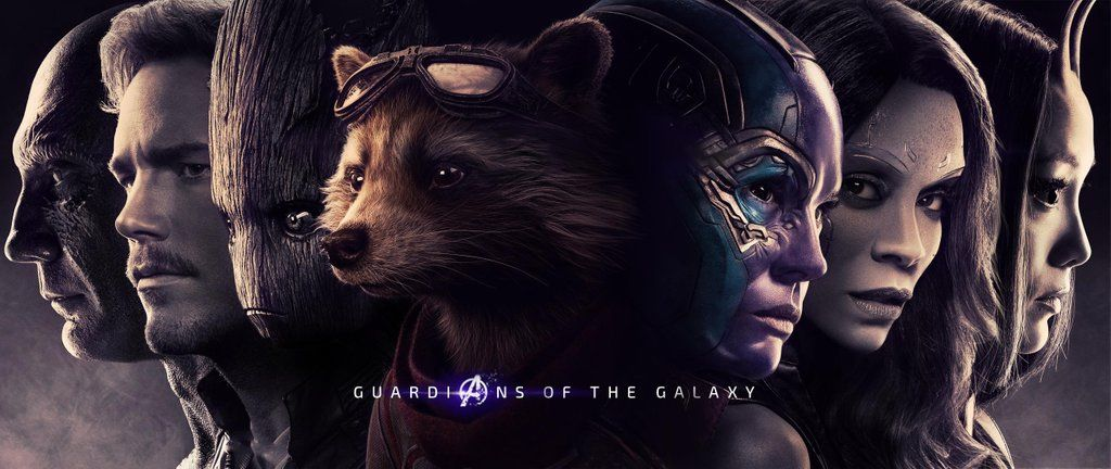 Guardians of the galaxy endgame posters by biigm on
