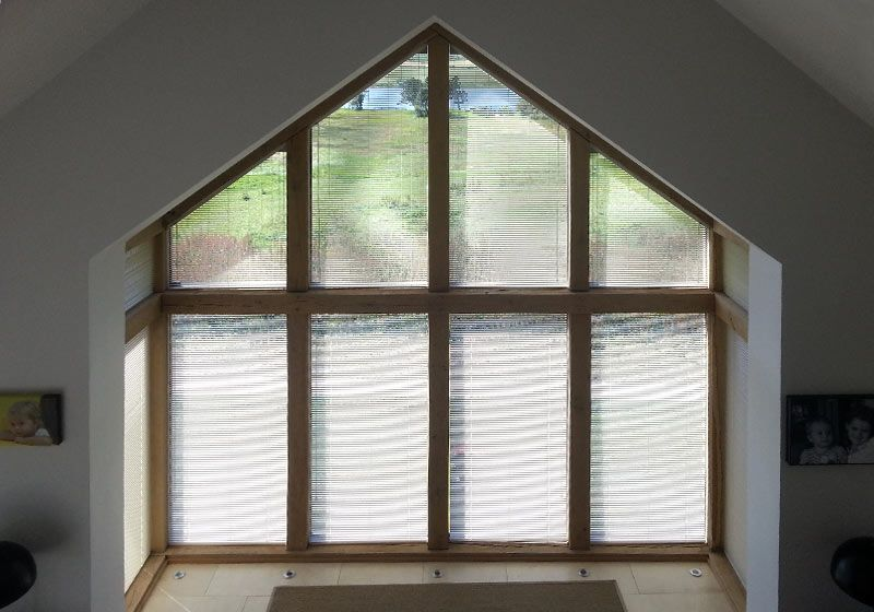 Triangle Window Blinds Blinds For Windows Windows Ranches Living