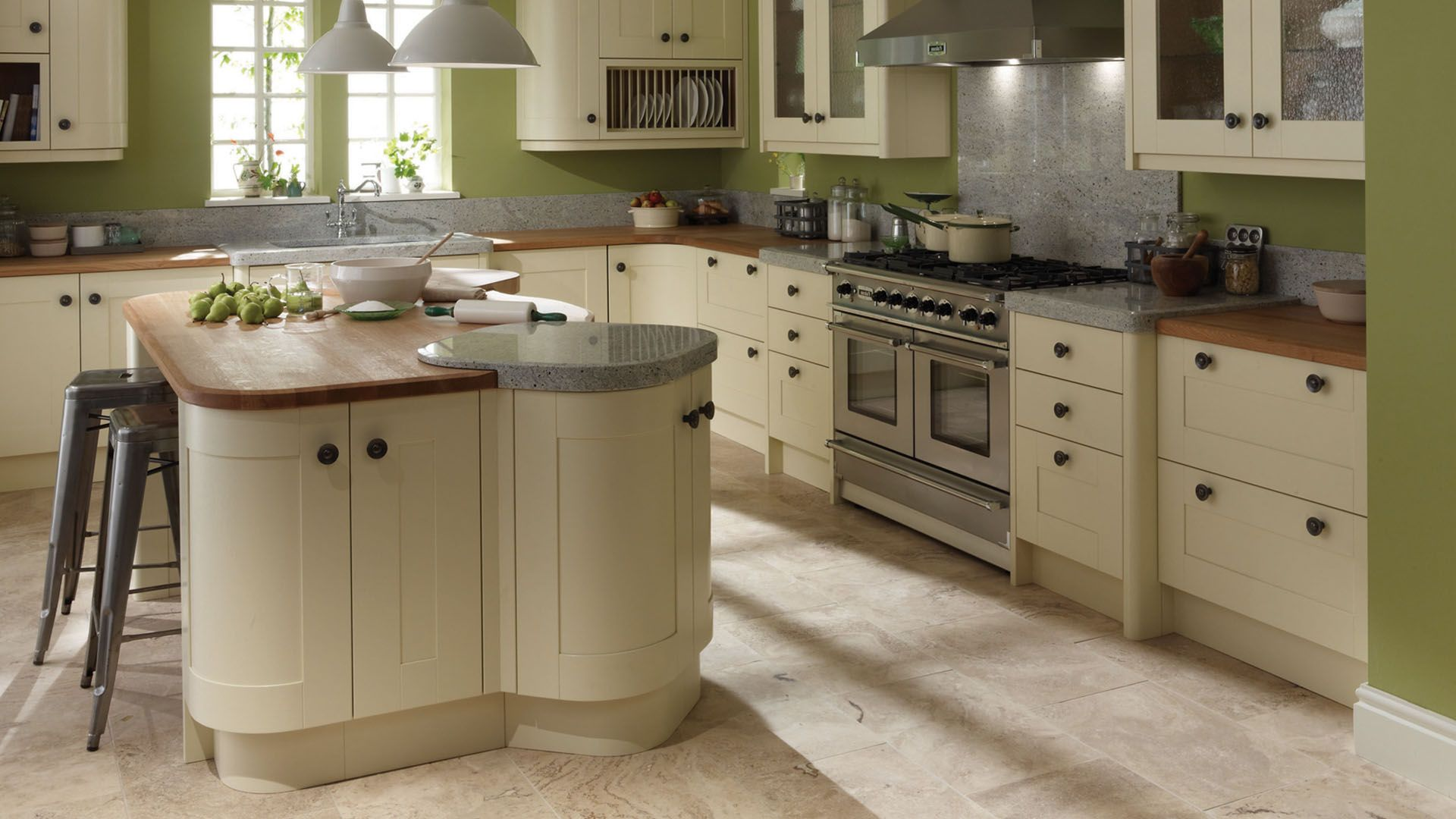 Wyvis Painted Vanilla Pod Kitchens Bedrooms By Ashley Ann Country Kitchen Cabinets Kitchens And Bedrooms Green Country Kitchen Beautiful kitchens bedrooms and