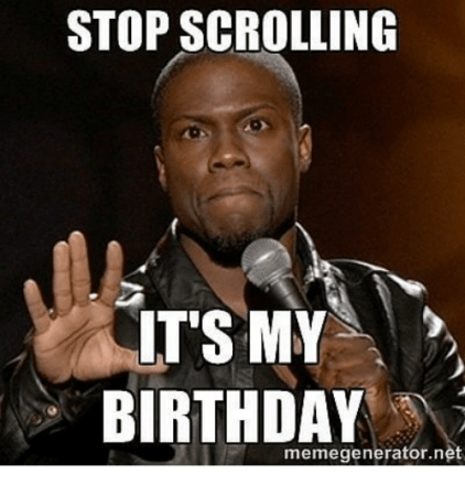 Kevin Hart Birthday Graphic Kevin Hart Funny Quotes Kevin Hart Meme