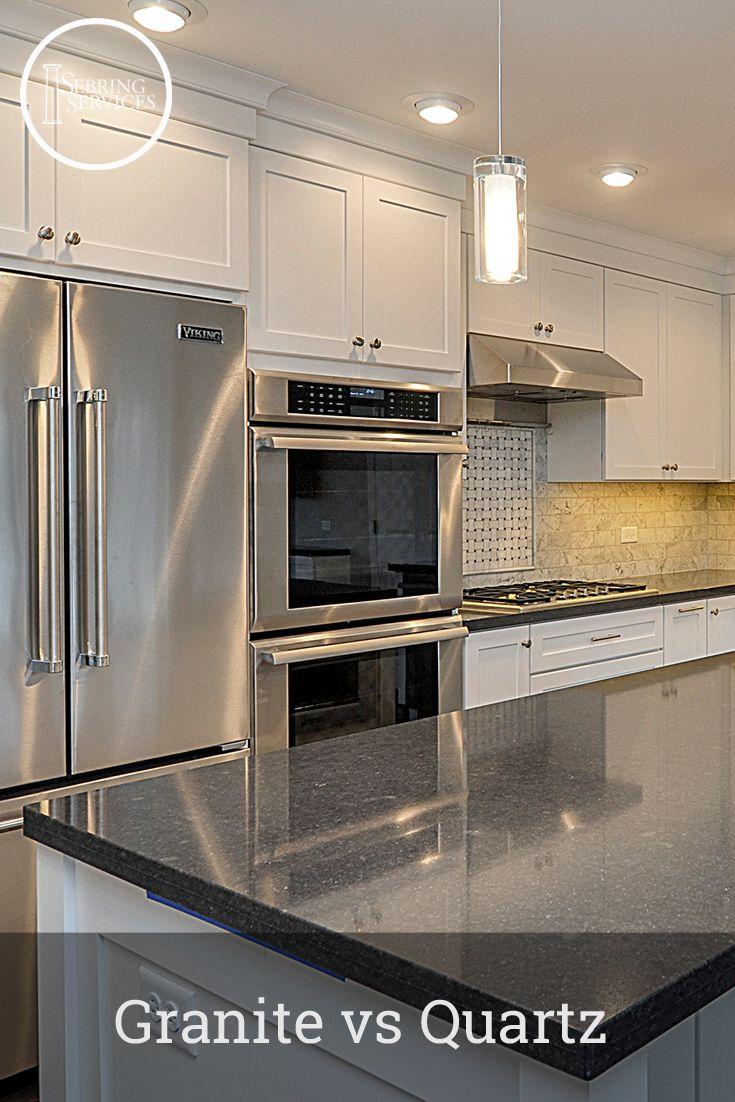 pros and cons of quartz vs granite countertops the complete rundown decor quartz kitchen. Black Bedroom Furniture Sets. Home Design Ideas