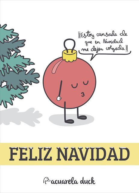DIY: Imprimibles postales divertidas de Navidad!!! Feliz Navidad ...