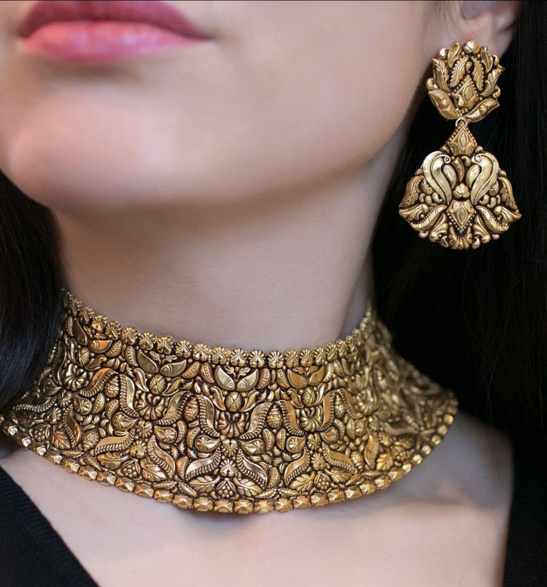 Pin by sana khan on gold jewellery pinterest indian jewelry