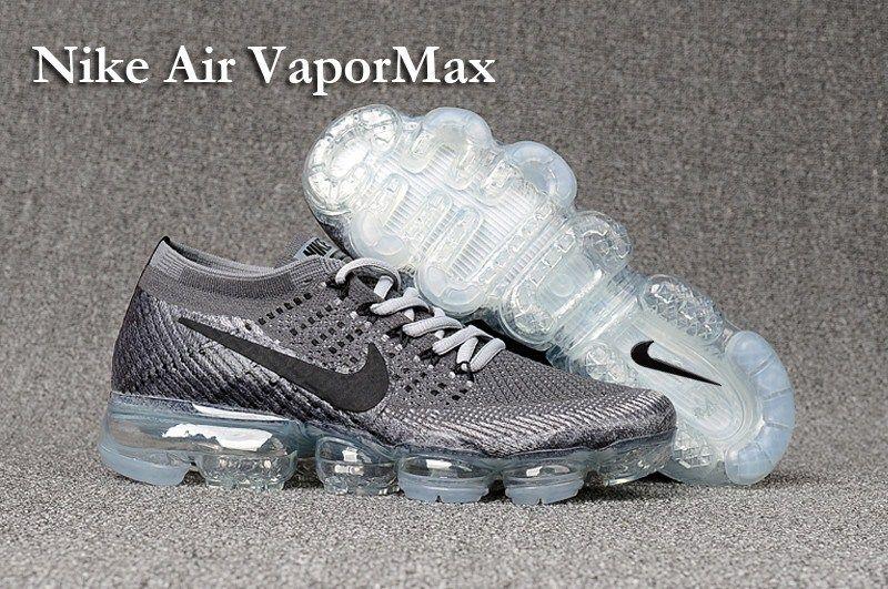 a808df9a2017c ... Nike Air VaporMax 2018 Mens Running Shoes Grey Black Nike womens air  vapormax ...