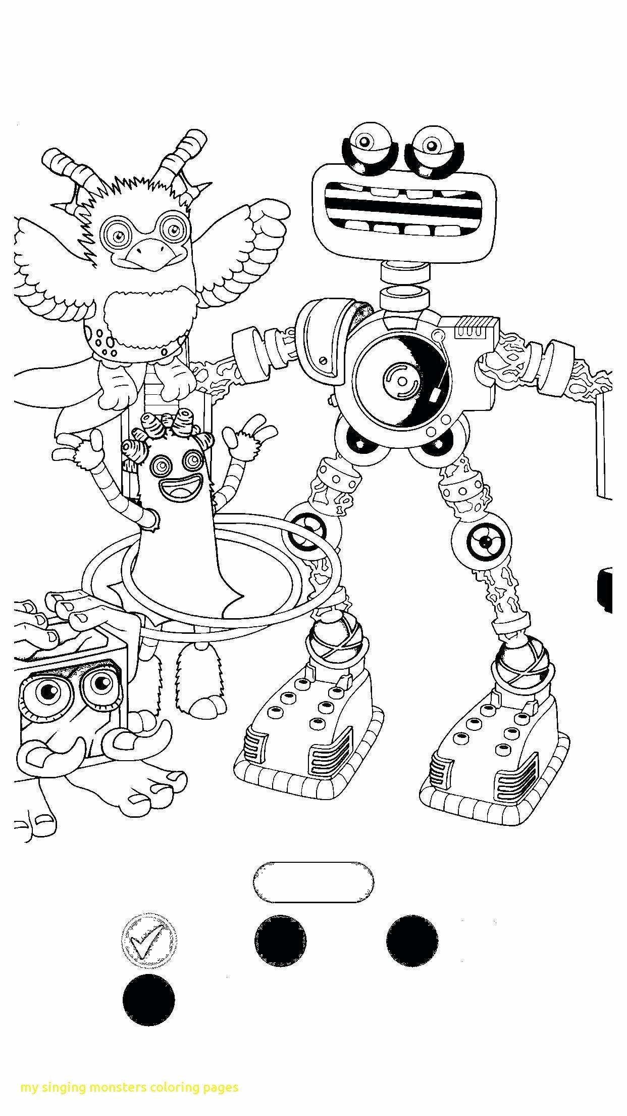 My Singing Monsters Coloring Book Lovely My Singing Monsters Coloring Pages Sketch Coloring Page In 2020 Monster Coloring Pages Singing Monsters My Singing Monsters