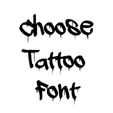 Gangster Tattoo Font Generator Tattoo Font Tattoo Fonts Generator Gangster Tattoos