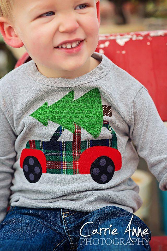 O Christmas Tree- boys shirt @Tiffany Beasley I thought of you when