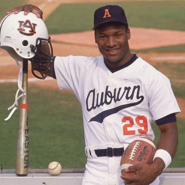 b6f99504b Bo Jackson.. Auburn University. War Eagle!!! Then onto the NFL & MLB! One  the world's greatest athletes of all time!!!