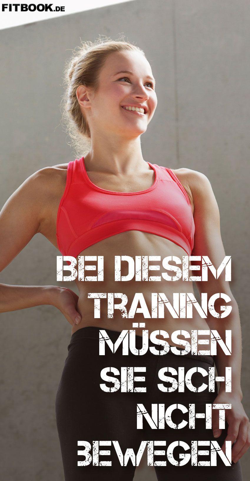 Bei diesem Workout müssen Sie sich nicht bewegen | Muskeln aufbauen ...