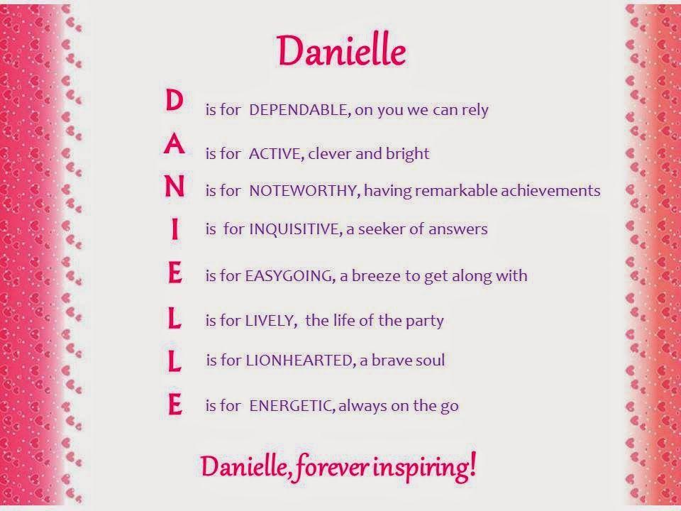 Danielle Acrostic Name Poem Jpg 960 720 Acrostic Acrostic Poem Poems