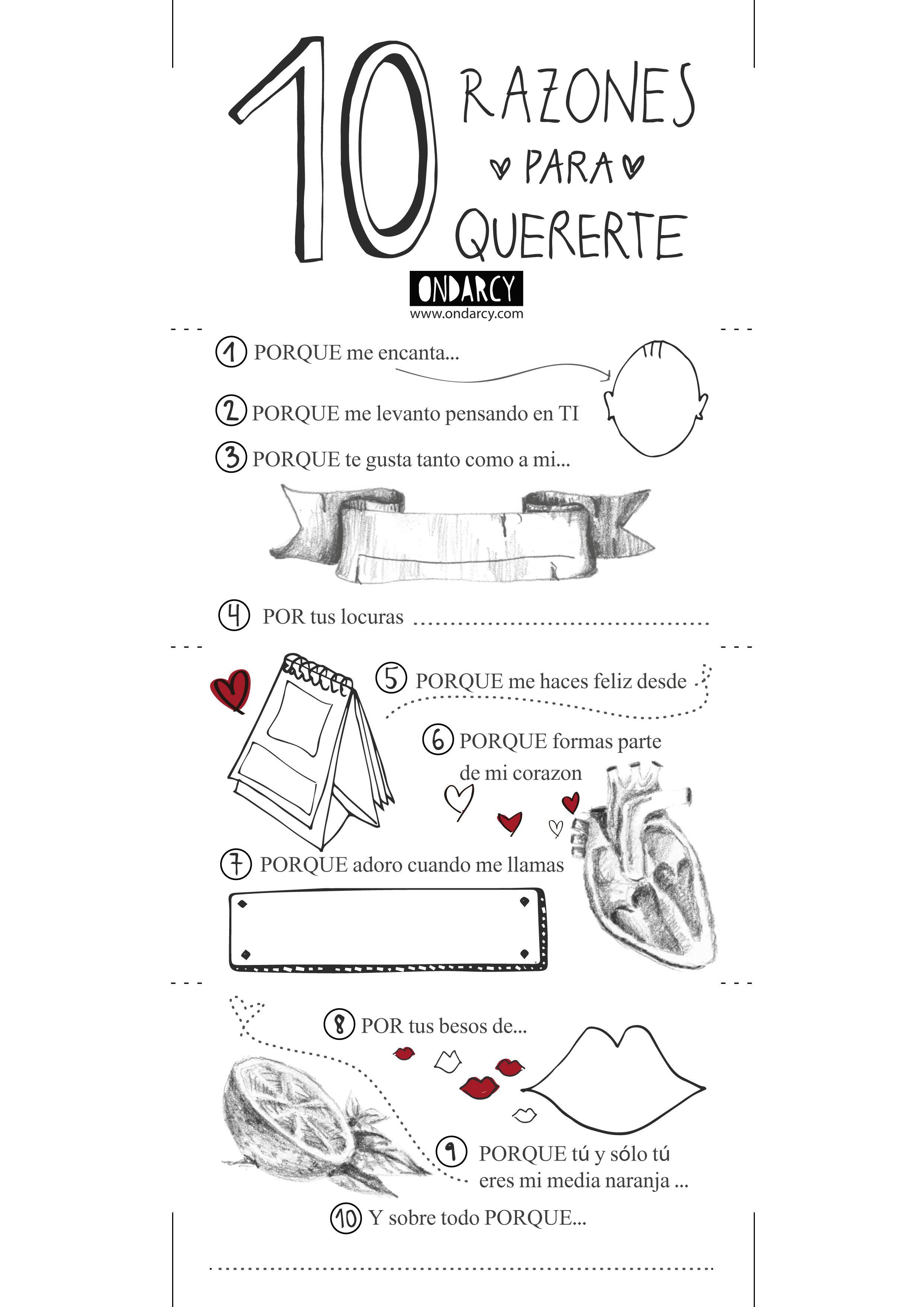 San Valentin 2015 Razones Para Quererte Sorpresas Para Tu