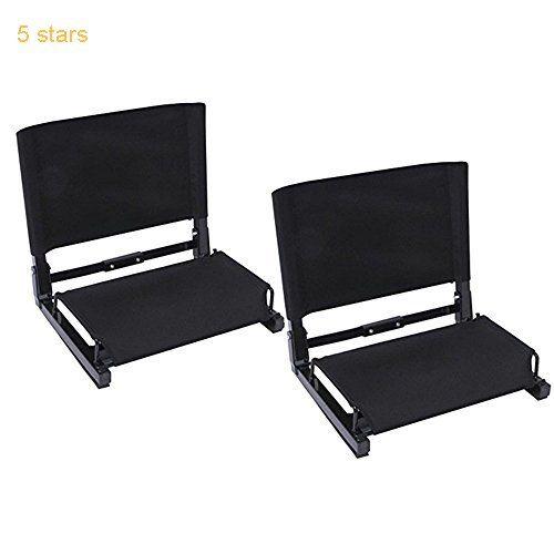 ohuhu deluxe stadium chairs /stadium seats2 pack | top selling