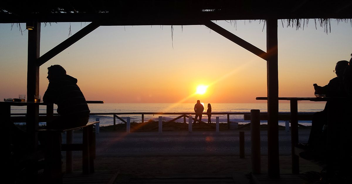 Sun Setting On El Palmar Beach Under 15 Minutes From Casa La Siesta Palmar Beach Beautiful Beaches Costa De La Luz