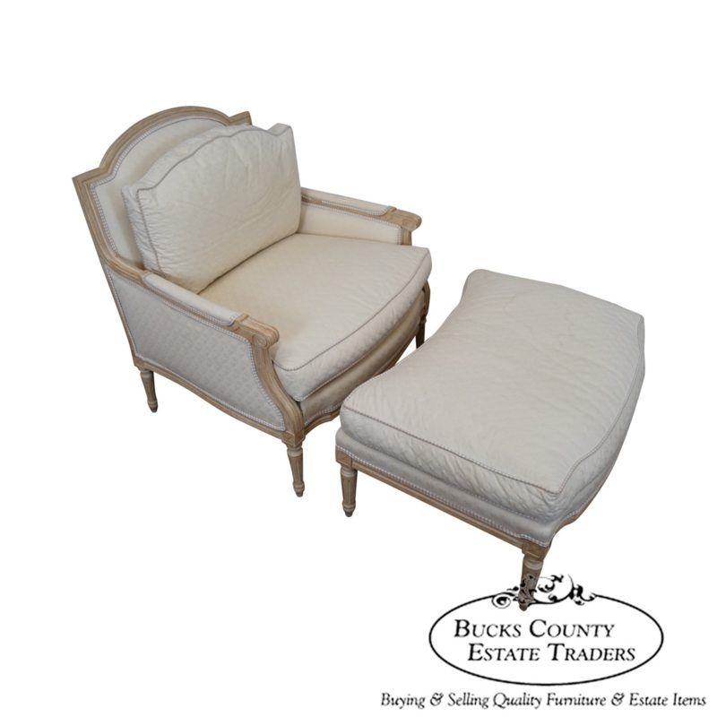 Heirloom furniture french louis xv style bergere chaise for Buy chaise lounge