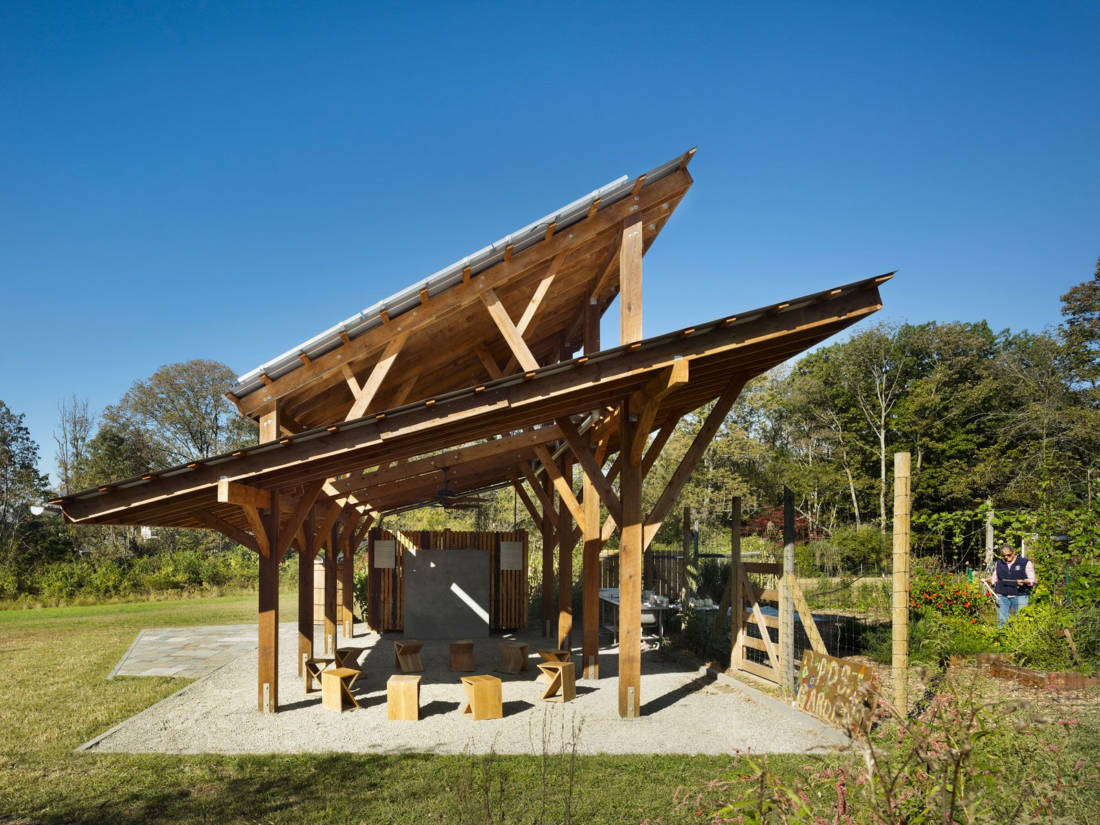 Material Design Build Llc Outdoor Classroom Outdoor Playground Outdoor Design