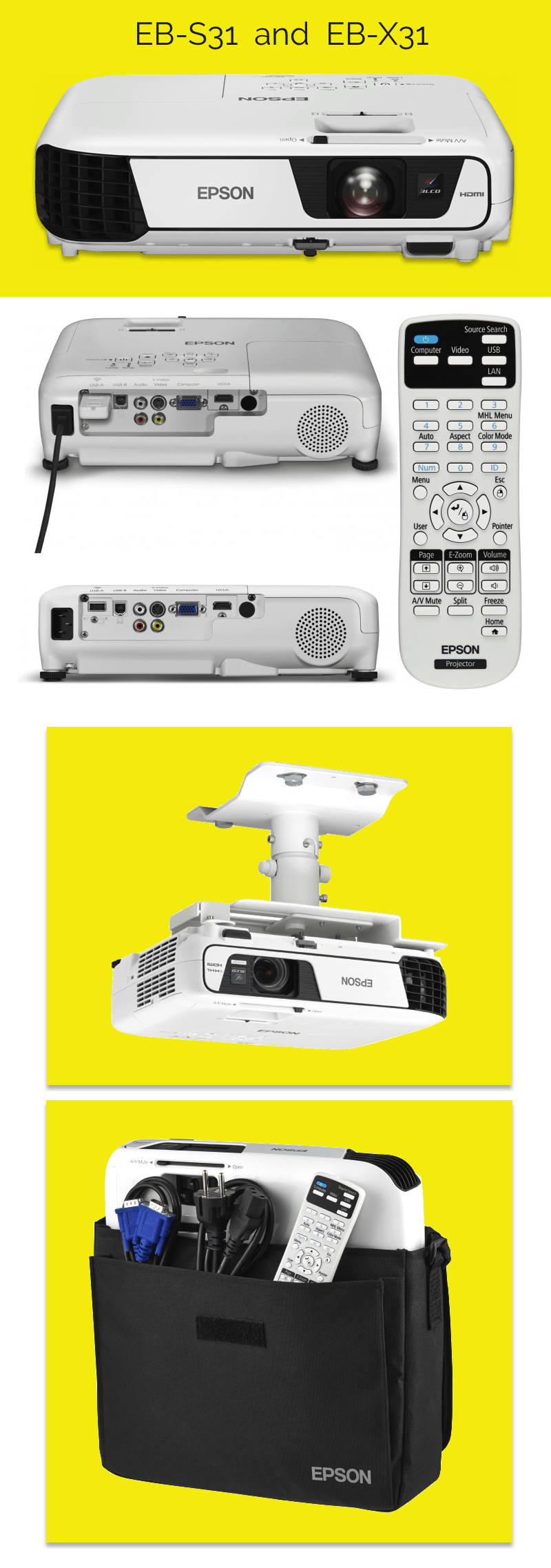 Epson Projector Image Gallery