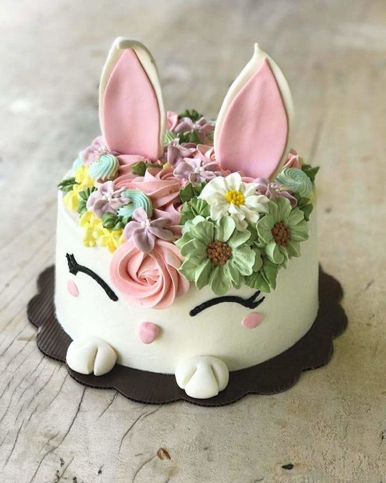 Easter cakes that spell out deliciousness & cuteness