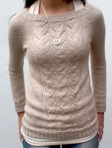 71601a504 Ravelry  veronicamo s Lace TOP-DOWN Raglan