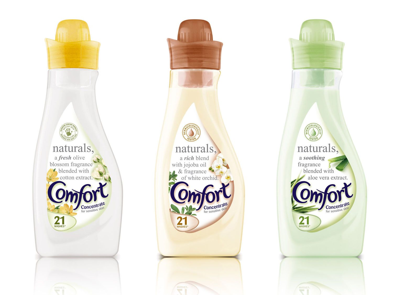 Comfort Unilever Cosmetic Packaging Design Laundry Detergent