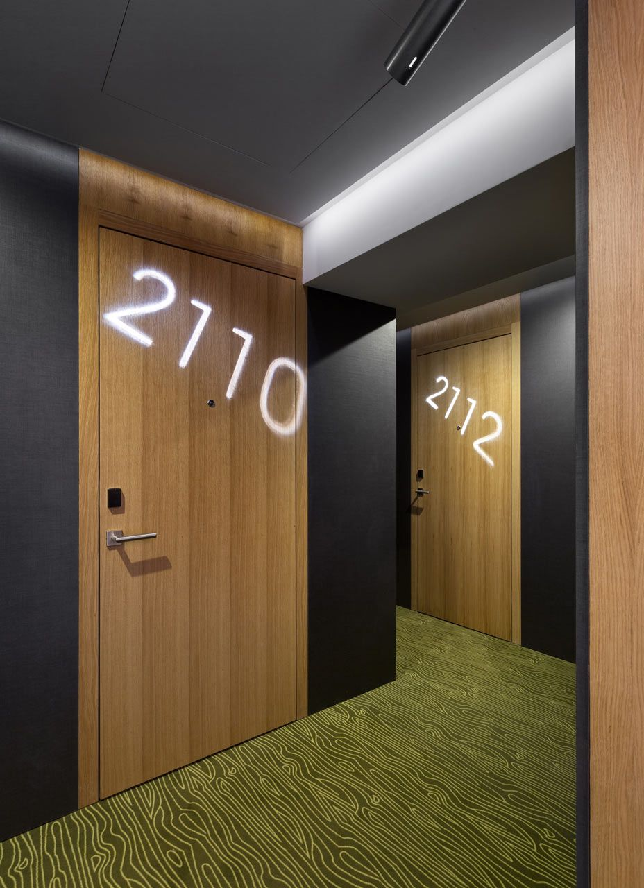 Image Result For Hotel Room Door Designs: A Hotel For City Dwellers That Like To Be In Nature