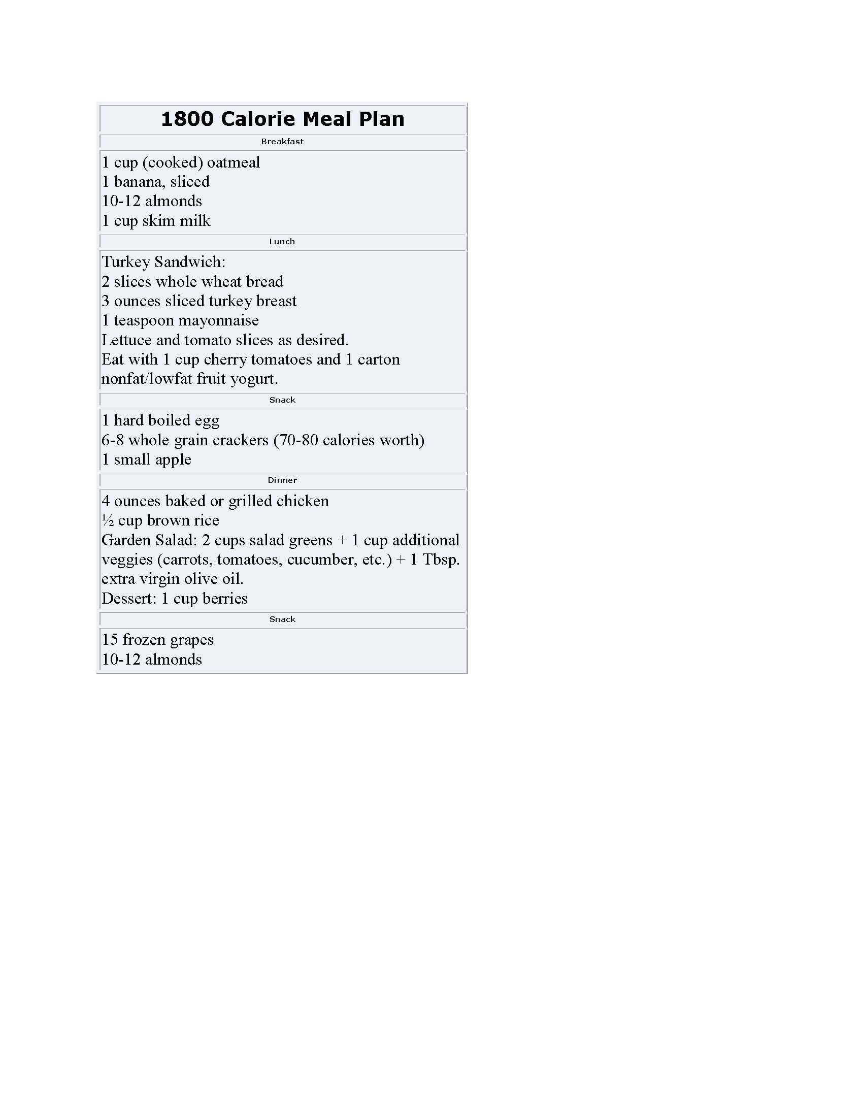 1200 calorie diet meal plan the healthy meal plan series calories